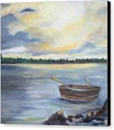 Oyster Bay Canvas Print by Shirley Lawing
