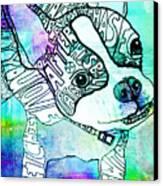 Ozzy Boy Blues Canvas Print by Robin Mead