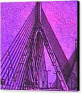 p1040151b  Zachon  Bridge Canvas Print