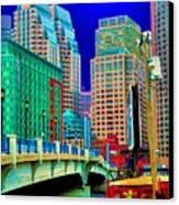 p1070571b  Boston  Bridge Canvas Print