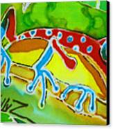 Pa Froggy Canvas Print