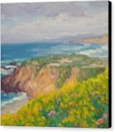 Pacific Sun Canvas Print