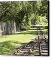Padarn Lake Railway Canvas Print