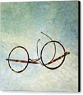 Pair Of Glasses Canvas Print by Bernard Jaubert