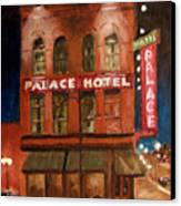 Palace Hotel Canvas Print
