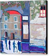 Palazzo Di Villafranca Canvas Print