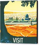 Palestine Canvas Print by Georgia Fowler