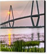 Palm Harbor Sunset - Charleston Sc Canvas Print