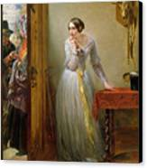 Palpitation Canvas Print by Charles West Cope