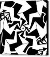 Paparazzi Maze Canvas Print