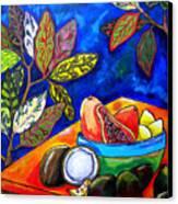 Papaya Morning Canvas Print