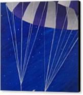 Para-shooting Star Canvas Print by Kerri Ertman