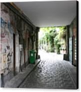 Paris - Alley 2 Canvas Print
