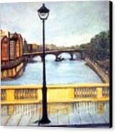 Paris After The Rain Canvas Print