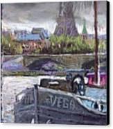 Paris Pont Alexandre IIi Canvas Print by Yuriy  Shevchuk
