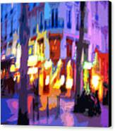Paris Quartier Latin 02 Canvas Print