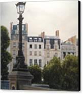 Paris Stroll Canvas Print