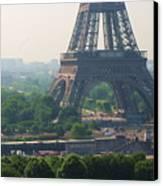 Paris Tour Eiffel 301 Pollution, Pollution Canvas Print