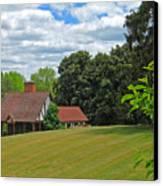 Parkland Cottage Canvas Print