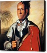 Parsons - Cherokee 1762 Canvas Print