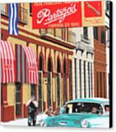 Partagas Cigar Factory Havana Cuba Canvas Print by Miguel G
