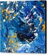 Passage A Travers La Galaxie 2 Canvas Print