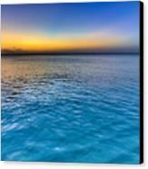 Pastel Ocean Canvas Print by Chad Dutson