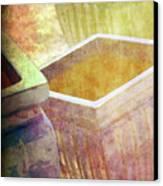 Pastel Pottery Canvas Print