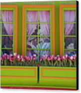 Pastle Windows Canvas Print