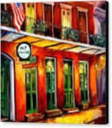 Pat O Briens Bar Canvas Print