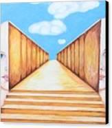 Path Of Unity Canvas Print