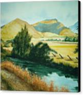 Path To Braithwaite Canvas Print