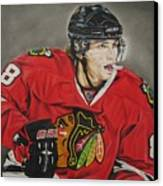 Patrick Kane Canvas Print by Brian Schuster