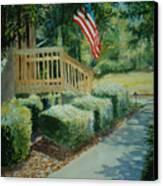 Patriot Next Door Canvas Print