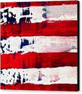 Patriot's Theme Canvas Print by Charles Jos Biviano