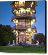 Patterson Park Pagoda. Baltimore Maryland  Canvas Print