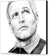 Paul Newman  Canvas Print