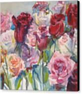 Paul's Roses II Canvas Print