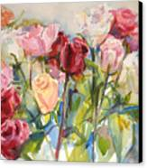 Paul's Roses Canvas Print
