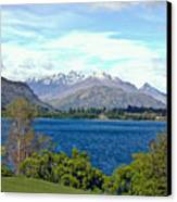 Peaceful Lake -- New Zealand Canvas Print