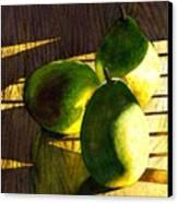 Pears No 3 Canvas Print