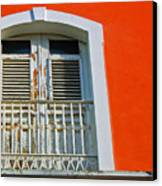 Peel An Orange Canvas Print