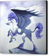 Pegasus Unchained Canvas Print