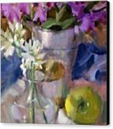 Peggy's Orchids Canvas Print