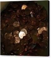 Pennies Canvas Print