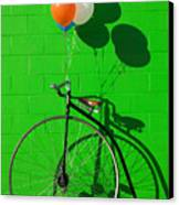 Penny Farthing Bike Canvas Print by Garry Gay