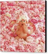 Peony Angel Canvas Print by Anne Geddes