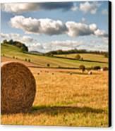 Perfect Harvest Landscape Canvas Print