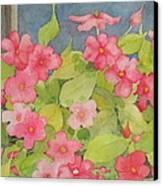 Perky Canvas Print