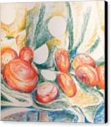 Perles Canvas Print
